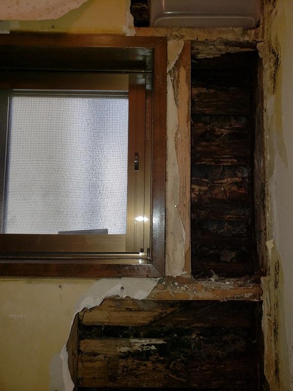 外壁雨漏り