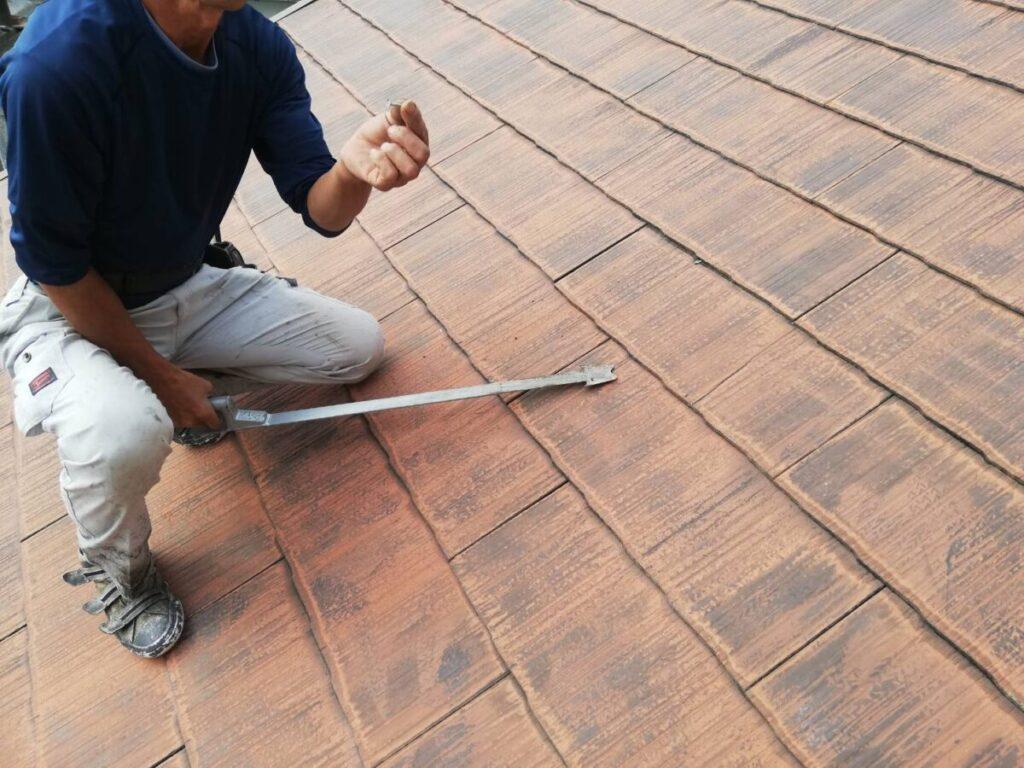 屋根 張り替え前