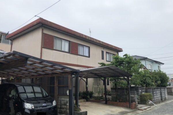 屋根塗装 施工前①