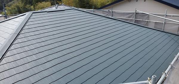 みやき町簑原 K様邸 屋根塗装 (1)