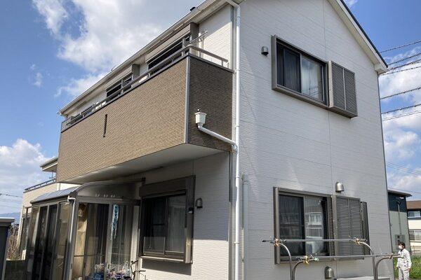 神埼市吉野ヶ里町吉田 K様邸 外壁塗装 (2)