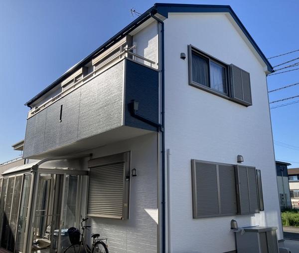 神埼市吉野ヶ里町吉田 K様邸 外壁塗装 (1)