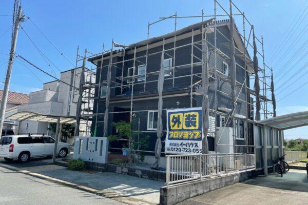福岡市南区 N様邸 外壁塗装工事 洗浄